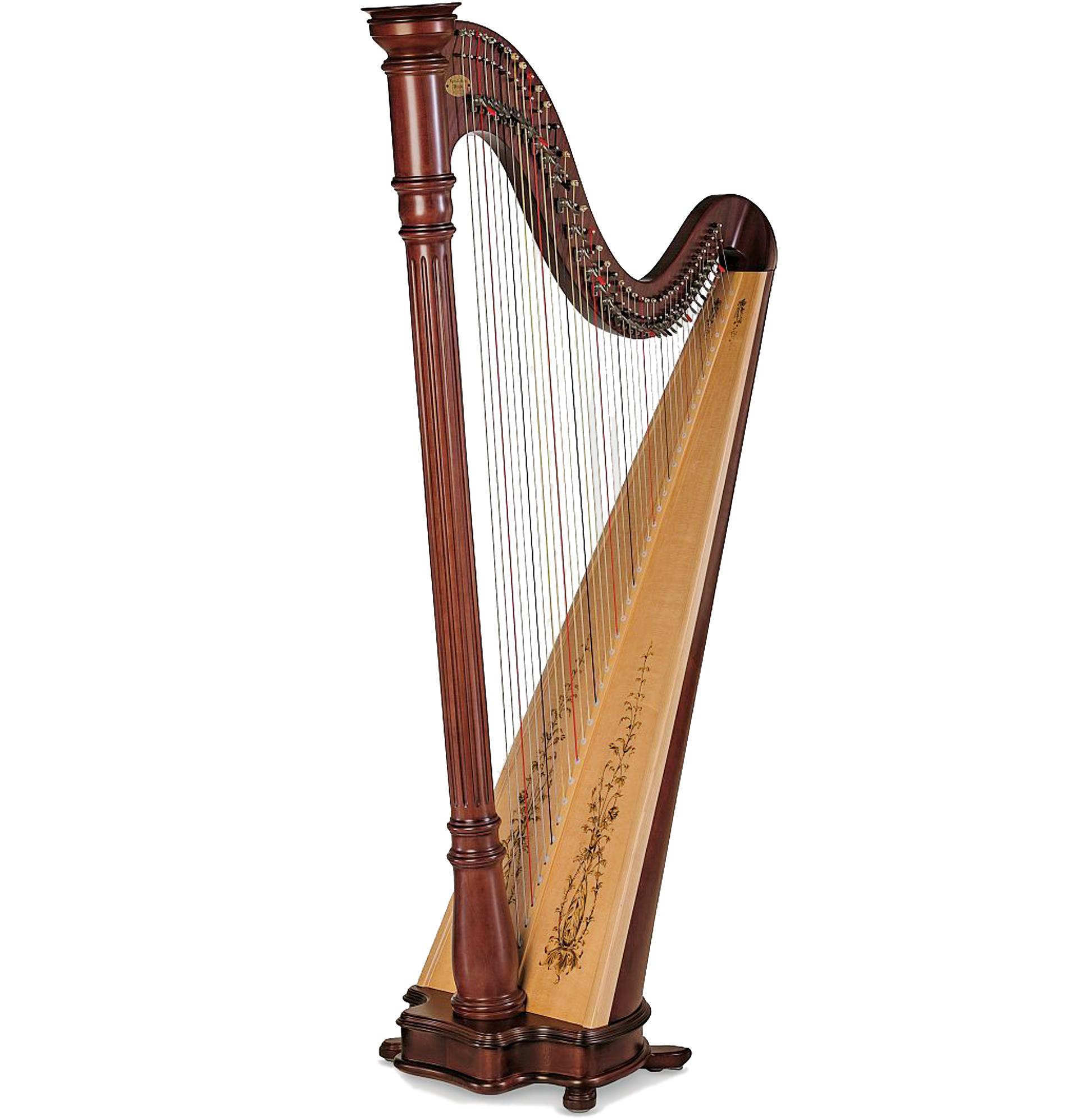 Harppu: Lyon & Healy Prelude, mahonki