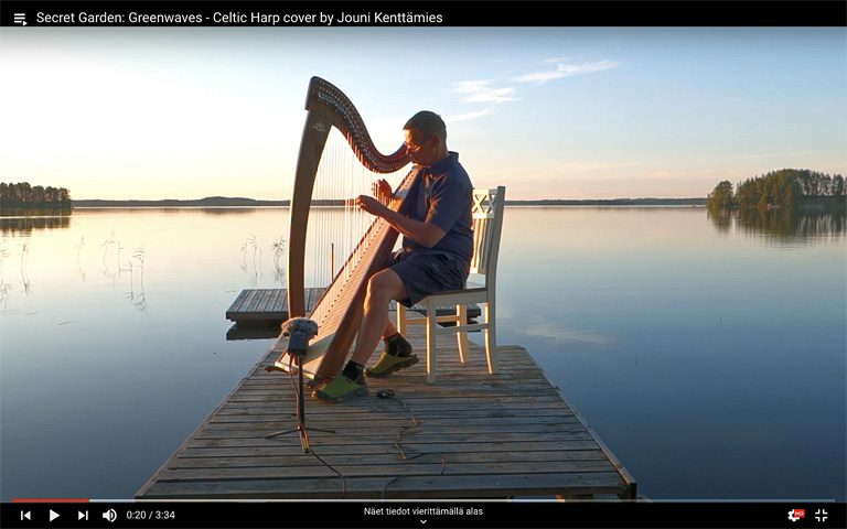 Audiox harp videos