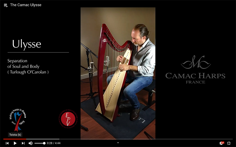 Camac harp videos